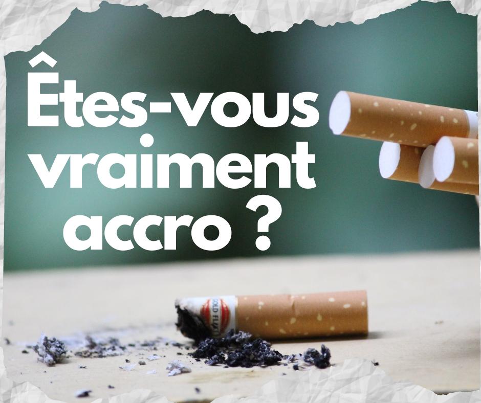 Cigarrette allumées